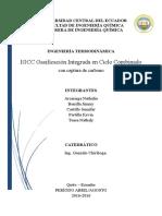 TRABAJO Ciclo Captura de Carbono IGCC