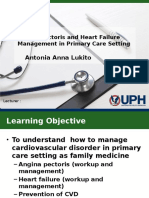 angina and HF in Primary Care