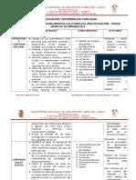 FLH. C.P. DE QUECHUA 3° GRADO