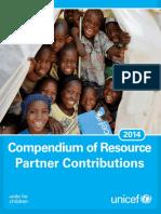 Compendium of Resource Partner Contributions 2014