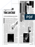 Slotted Holes and Expansion Joint Failure