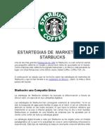 Estrategias de Marketing de Starbucks
