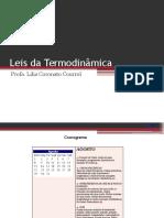 Leis Da Termodinamica
