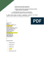 CieAura - Kezdő Akupunktúrás Kézikönyv - ABC-ben
