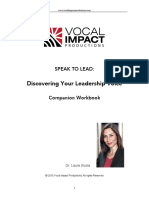 Discovering your leadership voice Workbook