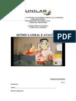 Manual de Laboratório Geral e Analítica 2015.2