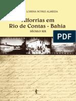 Alforrias Em Rio de Contas