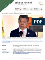Boletín de noticias KLR 14 de julio de 2016