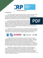 ACRP- Dissemination Plan 2011.pdf