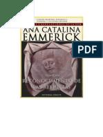 Visiones y Revelaciones de Ana Catalina Emmerick - Tomo XIV