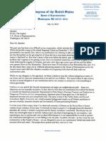 Aguilar Letter to Speaker Ryan