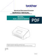 Service Manual Brother ADS 2500/2600