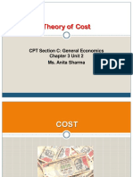 CA CPT Micro Economics PPT Theory of Cost