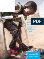 Humanitarian Action for Children 2016 (Overview)