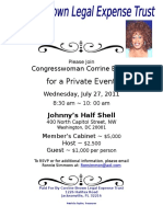 Corrine Brown Legal Defense Fund Event