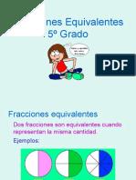 Refuerzo fracciones equivalentes 5°