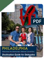 Philadelphia Destination Guide - DNC 2016