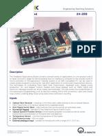 24-200 Datasheet Applications Board 03 2013