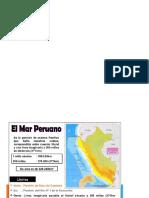 El Mar Peruano, mapa y recursos