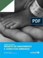 Relatorio Crianças Recrutadas Unicef Com Casos