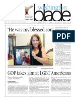 Washingtonblade.com, Volume 43, Issue 29, July 15, 2016