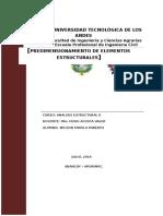 Mecanica de Suelos II. Presion Lateral de Tierra
