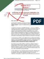 Macas Luis y otro.-Reflexiones en torno al proceso colonizador y las características de la educación universitaria (Boletin ICCI).pdf
