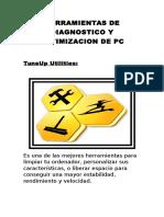 Herramientas de Diagnostico y Optimizacion de Pc