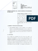 Pedido de vacancia contra Luis Castañeda