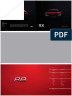 Audi r8 Brochure Revised