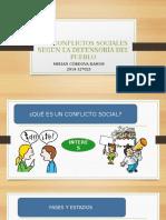 Conflictos Sociales Según La Defensoria Del Pueblo