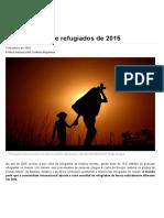 A Crise Global de Refugiados de 2015 - Anistia Internacional