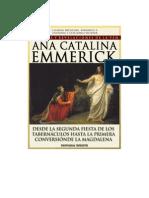 Visiones y Revelaciones de Ana Catalina Emmerick - Tomo VI