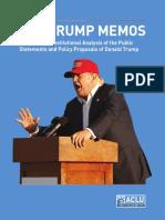 Trump Memos