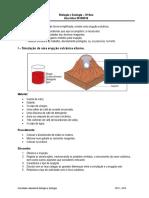 Ficha Simulação de Vulcões