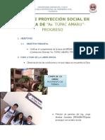 Labor de Proyección Social en La Obra De
