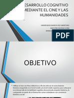 DESARROLLO COGNITIVO MEDIANTE EL CINE Y LAS HUMANIDADES
