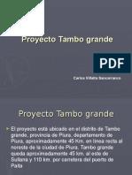 Determinación de Reservas en Tambo Grande