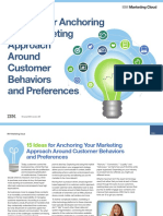 Anchoring Marketing Around Behaviors IBM