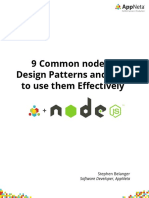 Node.js Design Patterns Whitepaper