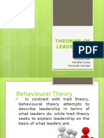 Theories of Leadership