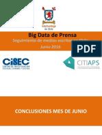 Big Data Prensa Junio 2016