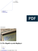 How Do LCDs (Liquid Crystal Displays) Work?