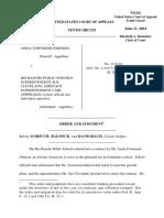 Townsend-Johnson v. Rio Rancho Public Schools, 10th Cir. (2014)