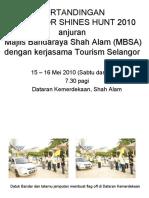 SelangorShinesHunt2010
