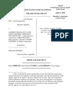 ClearOne Communications v. Chiang, 10th Cir. (2015)