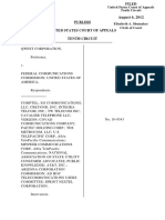 Qwest Corporation v. FCC, 10th Cir. (2012)
