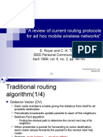Ad-Hoc Routing Protocol
