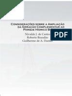 TDSE15 - Considerações Sobre a Ampliação Da Geração Complementar Ao Parque Hídrico Brasileiro - GESEL