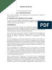 Decreto 2012 de 2012